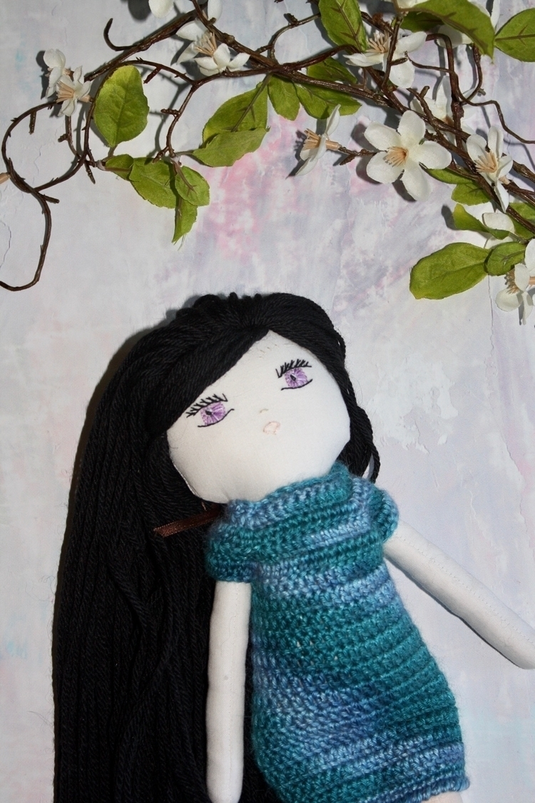 thinking Doll favorite....  - handmade - inspired_dolls_ | ello
