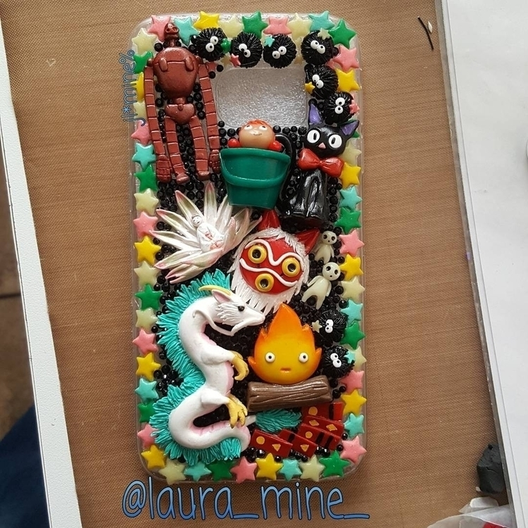 custom phone case - polymerclay. - laura_mine | ello