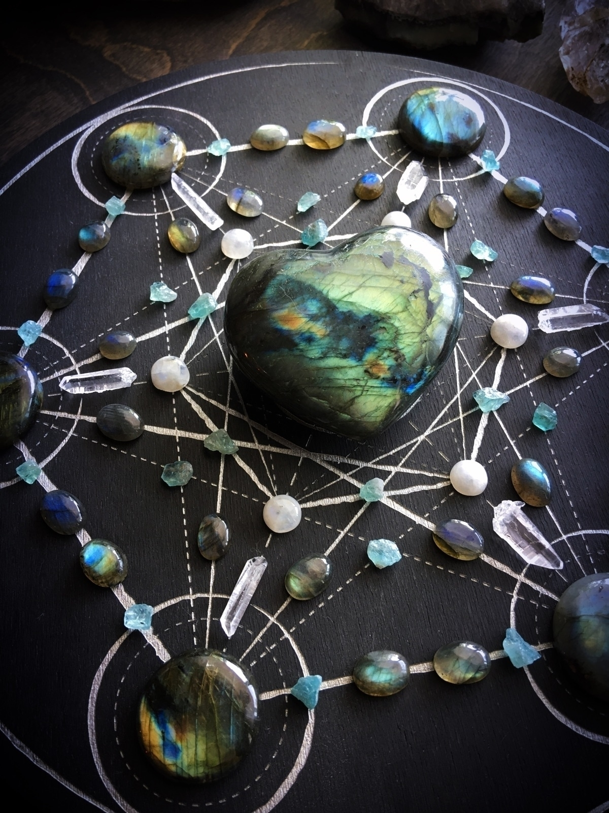 Stone Magick Labradorite, Blue  - queryeve | ello