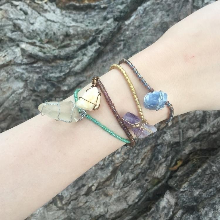 Beaded Bracelets Gemstones newe - gemsfromem | ello