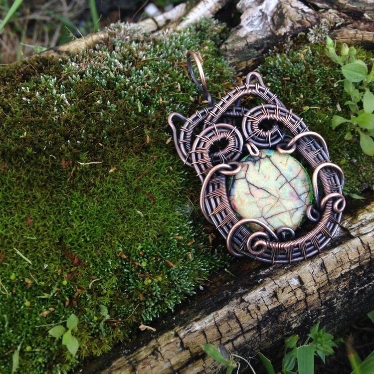 added lovely Owl pendant Etsy s - citrineshop | ello