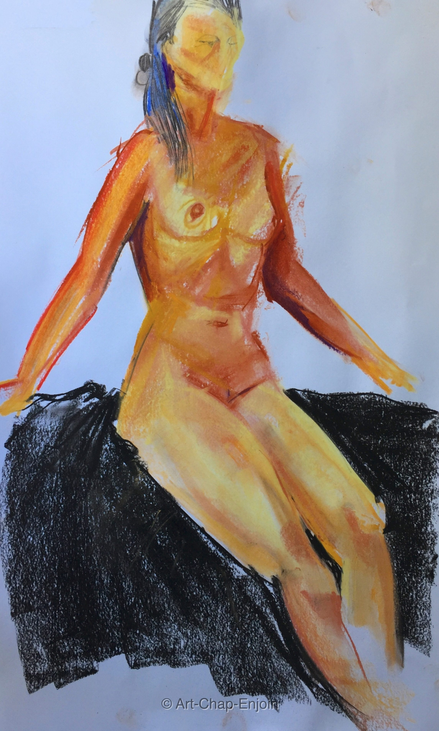 - Life drawing Sunday Nudes cla - artchapenjoin | ello