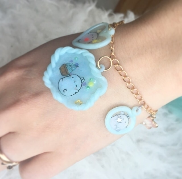 cutest polymer clay bracelet - finysha | ello