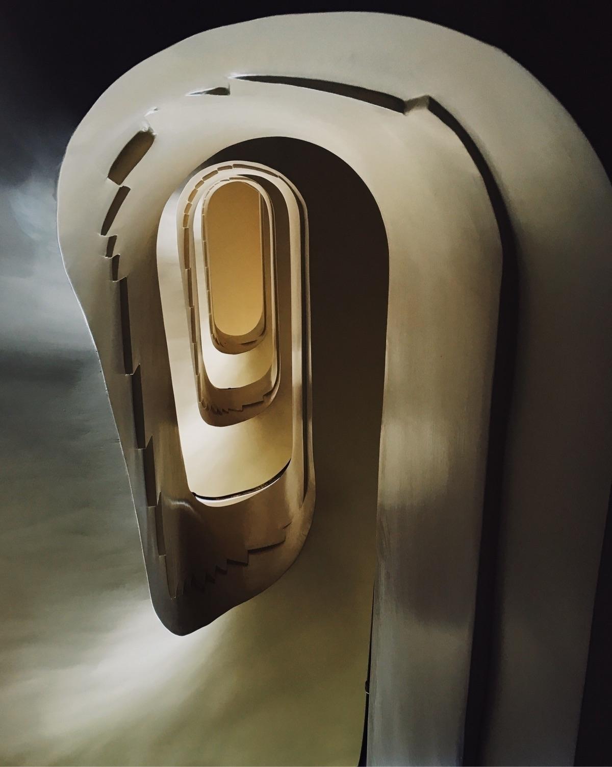 swanstairs - architecture, interior - free_thief | ello