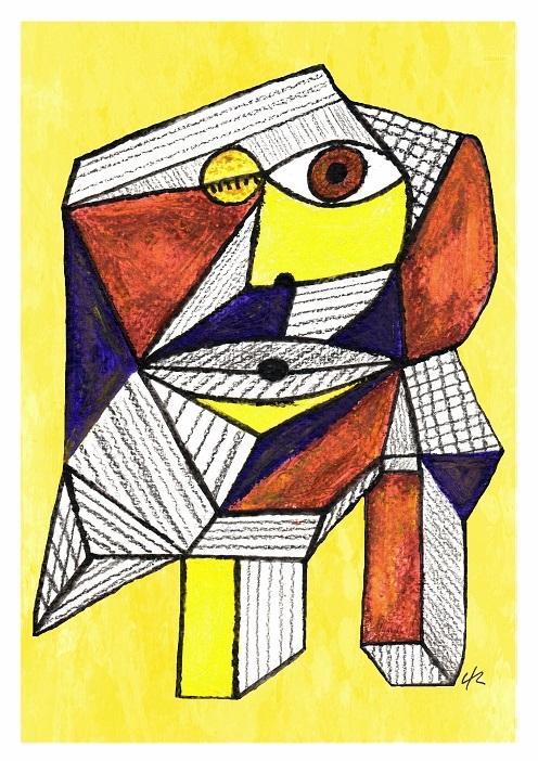 Abnormal 001, A4 print - cubism - clramalhao | ello