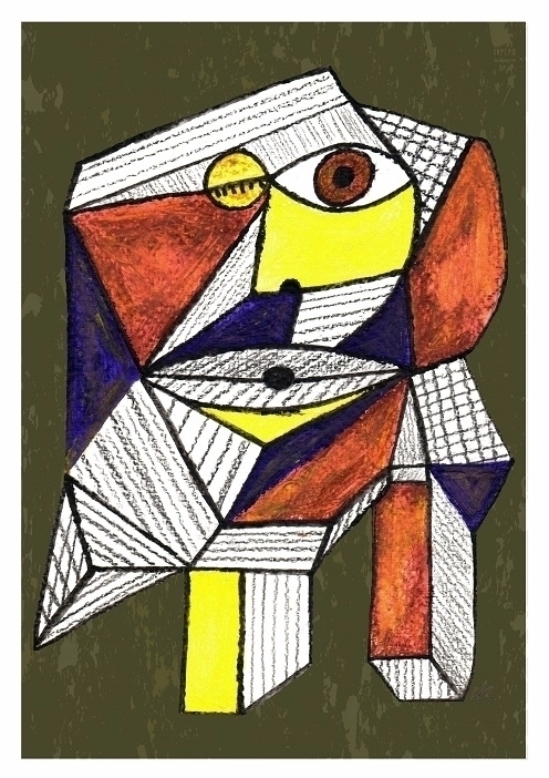 Abnormal 001, A4 Print - print, cubism - clramalhao | ello