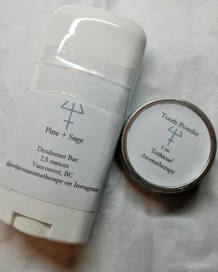 Pine Sage deodorants originally - tothicusaromatherapy | ello