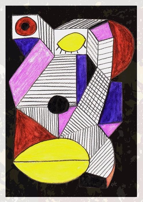 great A4 Print - print, cubism, art - clramalhao | ello