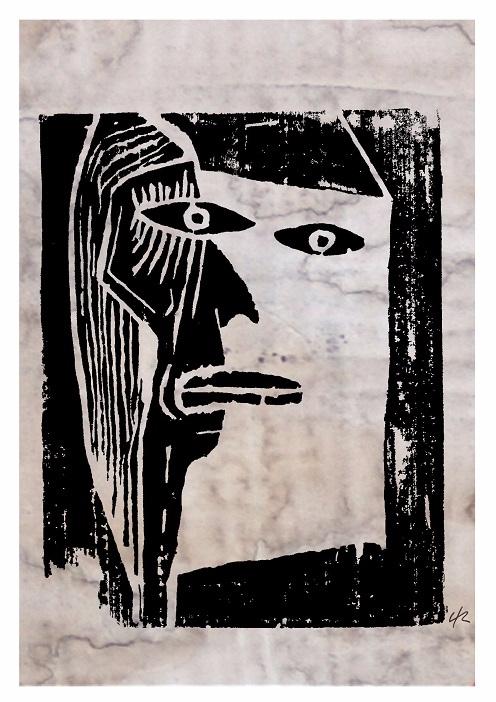 Man Mirror, A4 Print - print, art - clramalhao | ello