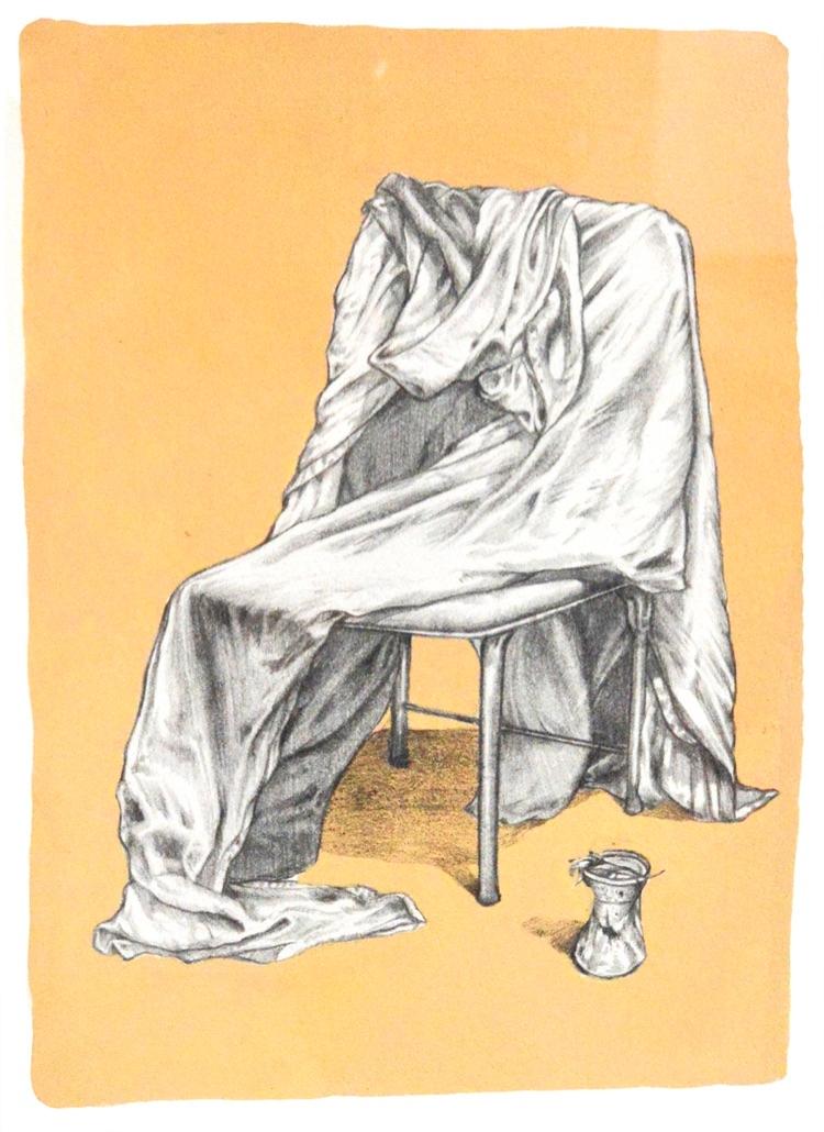 Broken Radio / Gouache Graphite - chairboy | ello