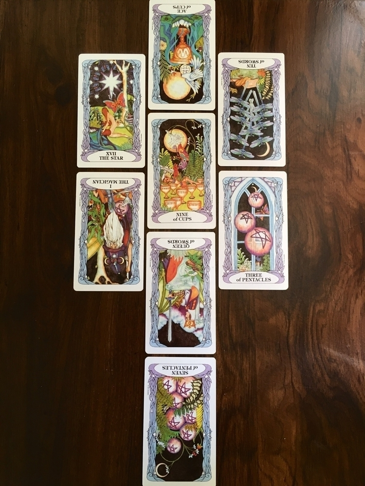 Messages Fae Tarot Reading | wo - thefaeriegodmother | ello