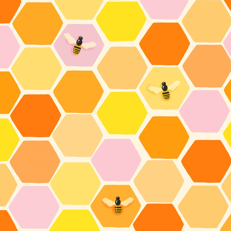 Busy Bee Hive cheerful piece co - littlebunnysunshine | ello