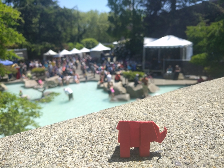 folk life, seattle center - elephantorigami | ello