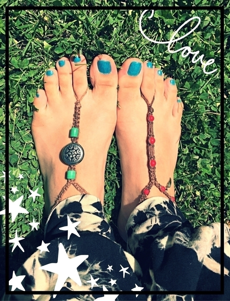 beautiful hemp barefoot sandals - maggiessundries | ello