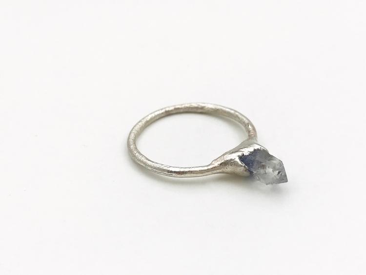 Blue Dumortierite ring size 7.5 - crystals_of_ello | ello