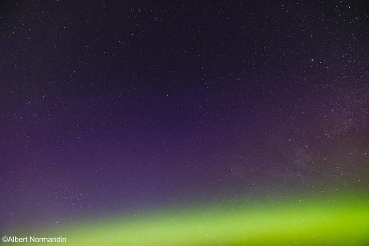 Northern Lights continued early - albertnormandin   ello