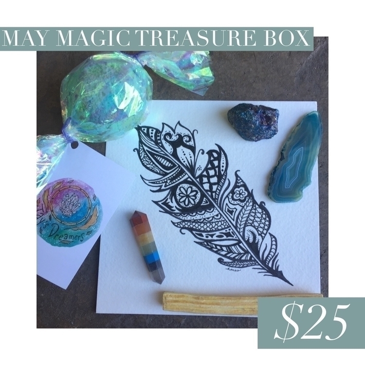 Magic Treasure Box box includes - lolajadecreations | ello