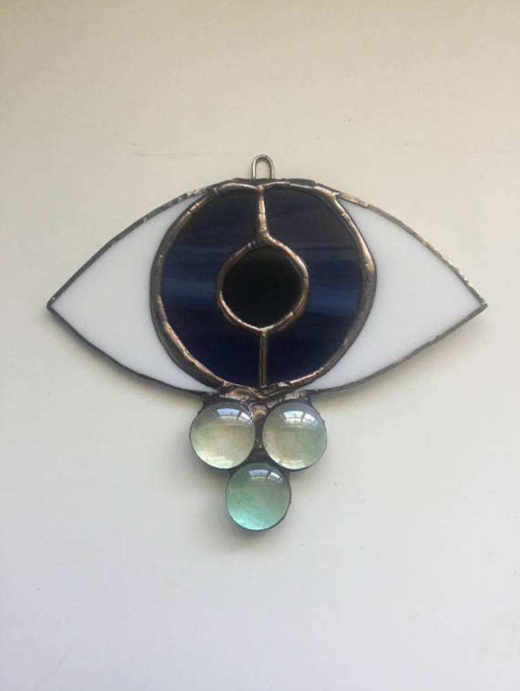 Evil Eye Suncatcher - oracleglass | ello