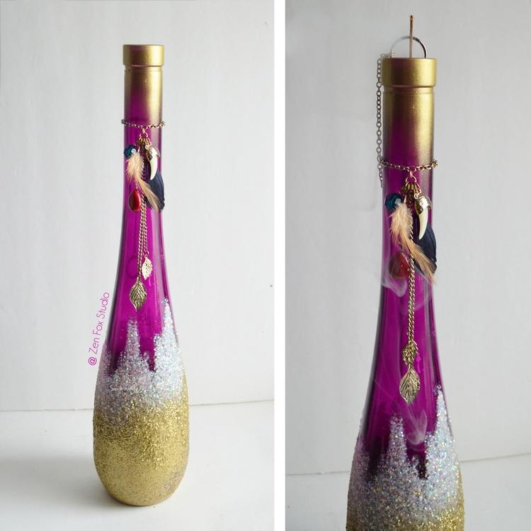 1 Smoking Incense Bottle left!  - zenfoxstudio | ello