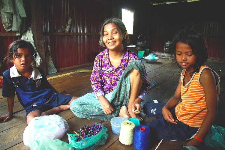 Sett, blind Cambodian woman. me - cherrie-karakia | ello