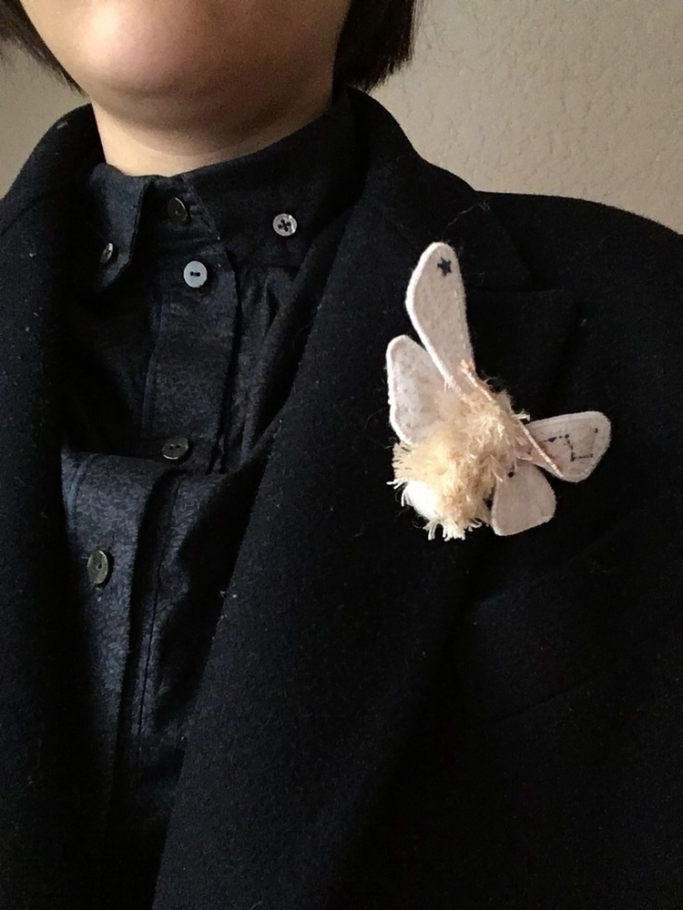 friends! Moth brooches, Etsy st - rizotto | ello