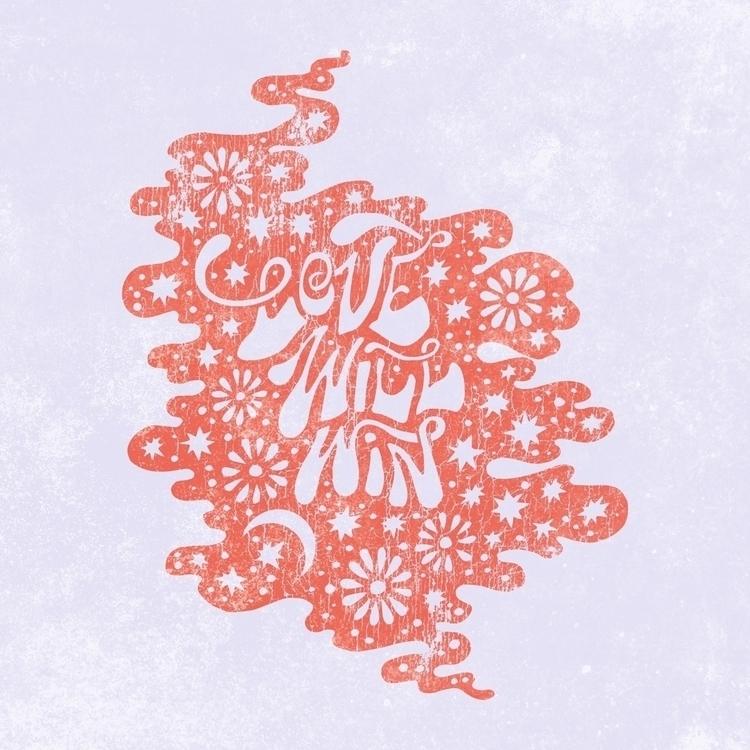 Hopes - illustration, typography - raychponygold | ello