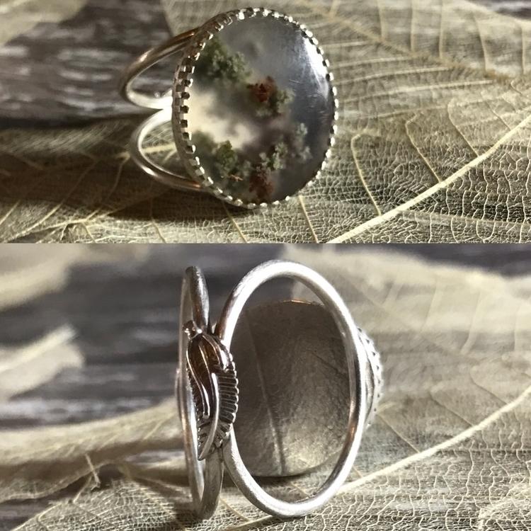 'Moss' - handmade sterling silv - mmmjewellerydesign | ello