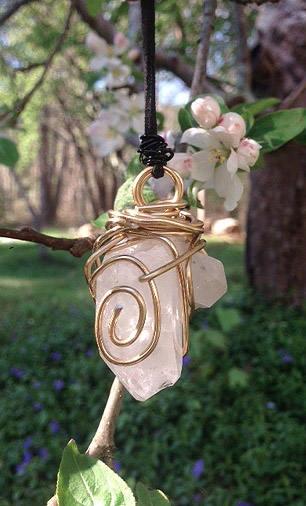 necklaces shop! quartz wrapped  - elishaz | ello