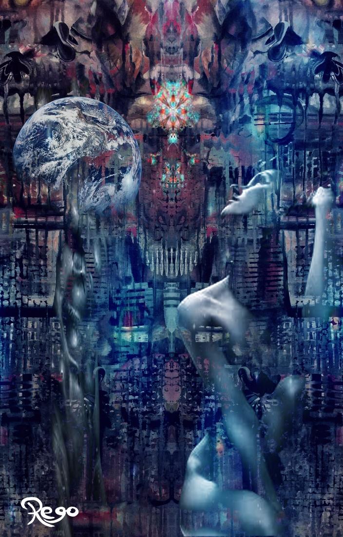 Artist Kenny Rego Title Shamani - kennyrego | ello