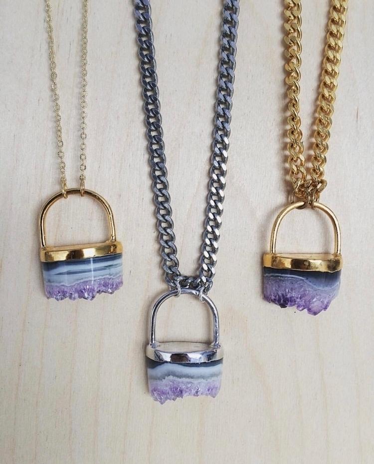 thinking making cylinder amethy - lb_jewelry | ello
