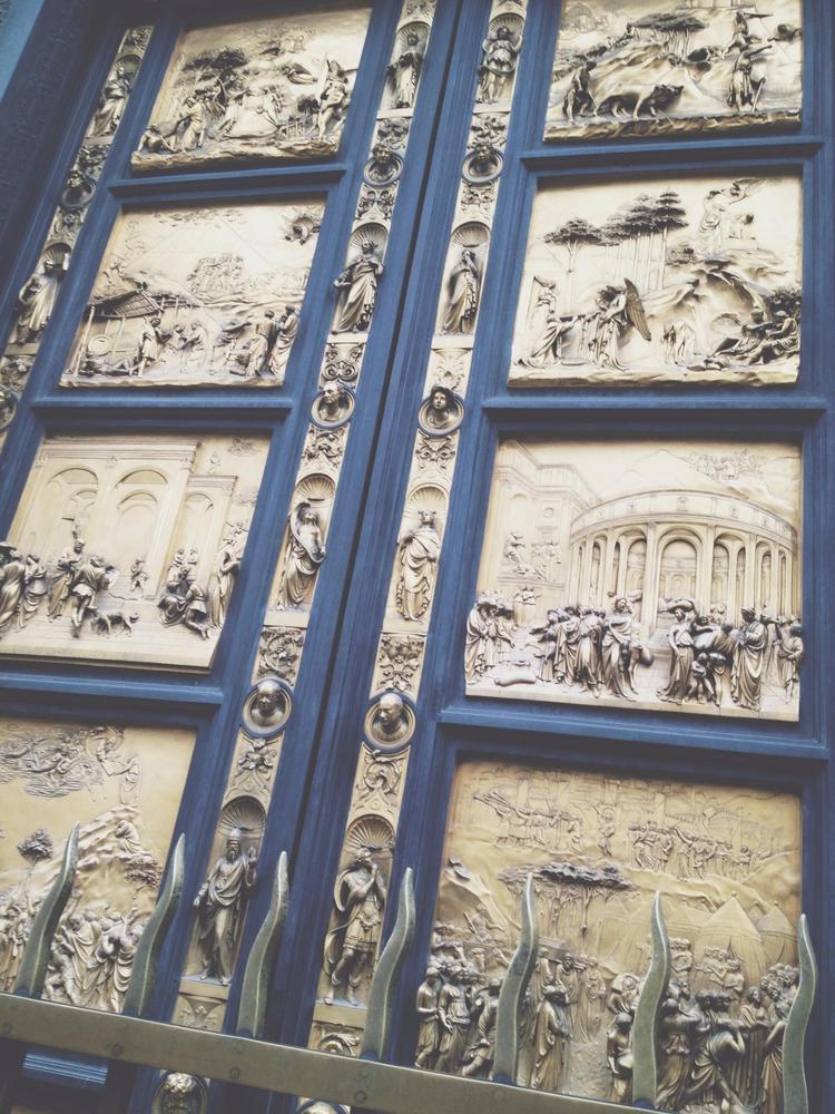 Gates Paradise   Florence, Ital - toriamia   ello
