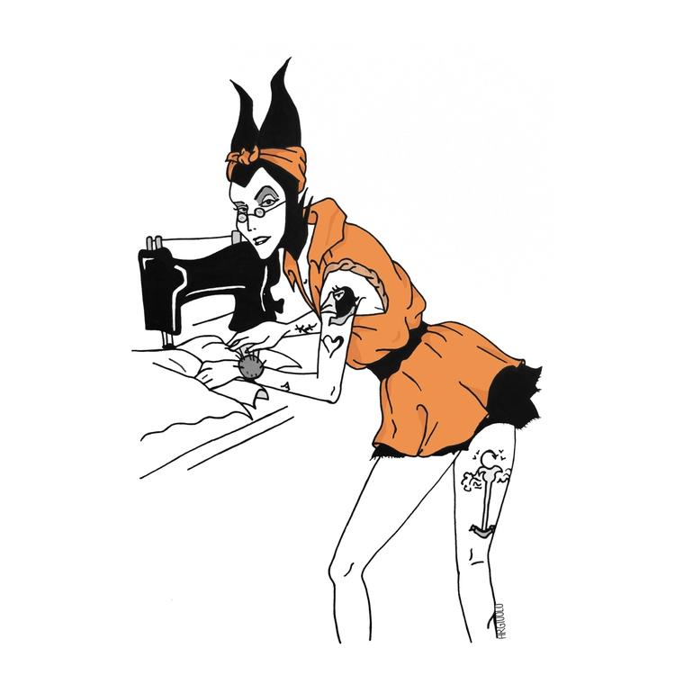SocialRehab: Maleficent - illustration - argiuolo | ello