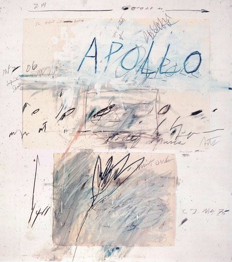 Cy Twombly - fvck | ello