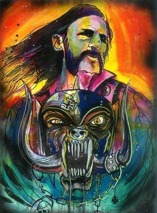 Prints site - lemmy, Motörhead, ROCKNROLL - iamryancase | ello