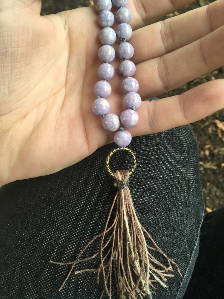 Working mottled purple Mountain - gypsyxjewels | ello