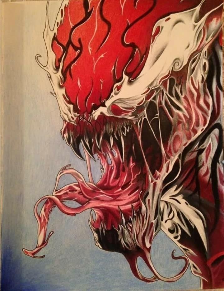 Prismacolor drawing Carnage ann - helvetejakthund | ello
