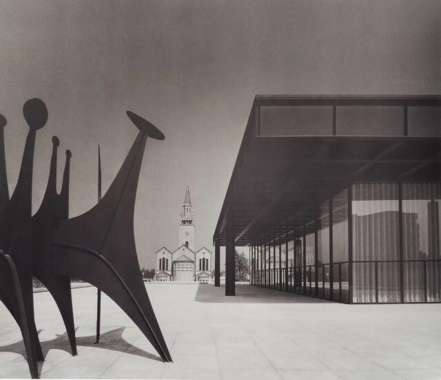 VAN DER National 1968. Large pa - bauhaus-movement | ello