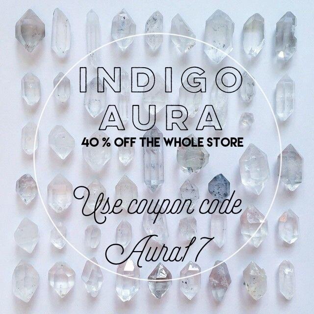 Indigo Aura sale!! 40% store - iiindigoaura | ello