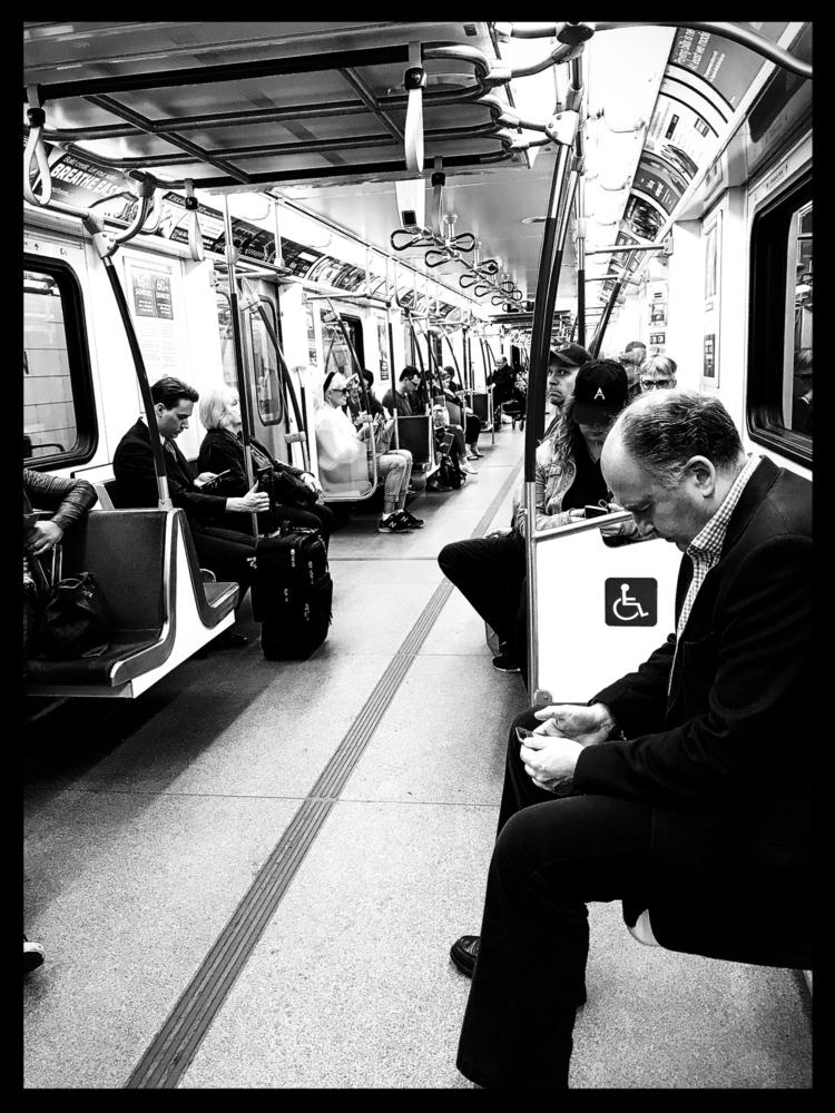 subway captures. enjoying thril - raynanator | ello