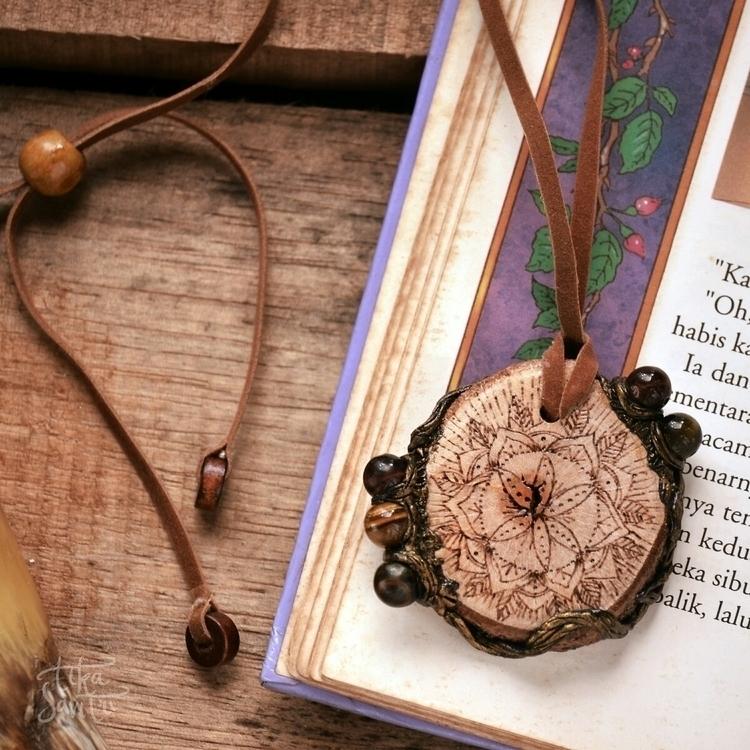 Wooden Pendant (custom order).  - tikasavitri | ello