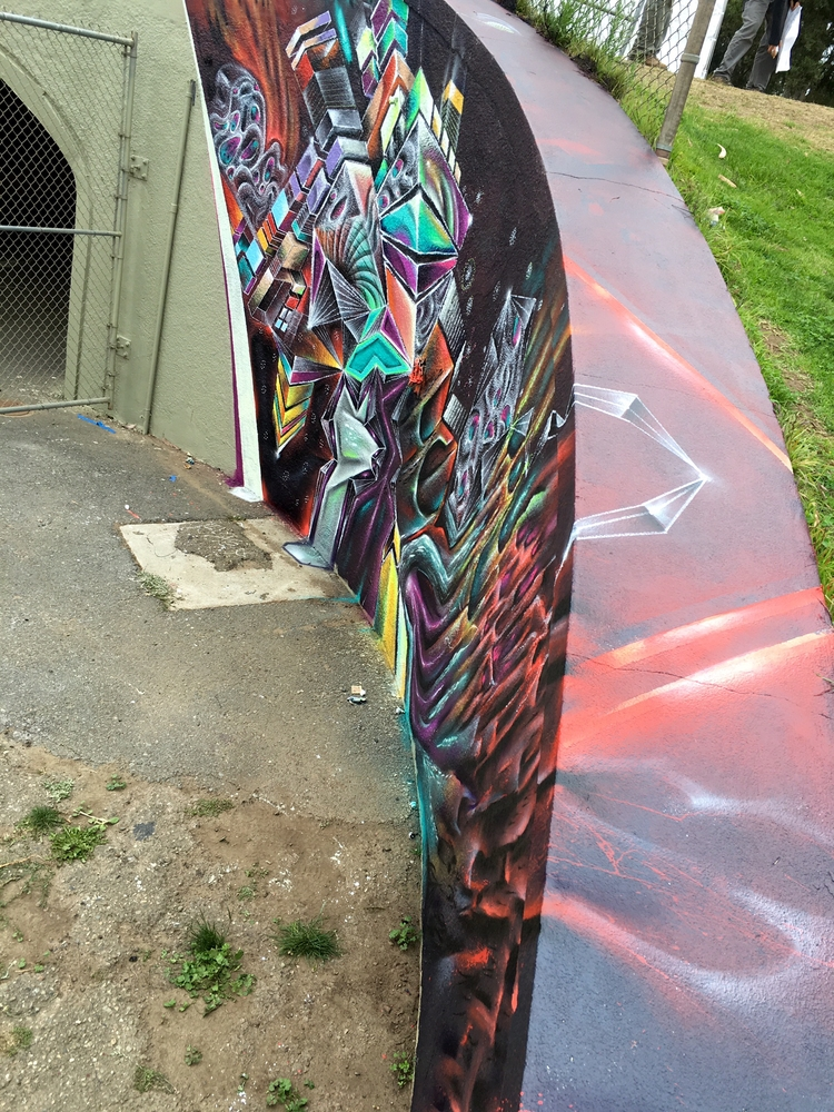Mural lands music festival San  - ehrmanmax | ello