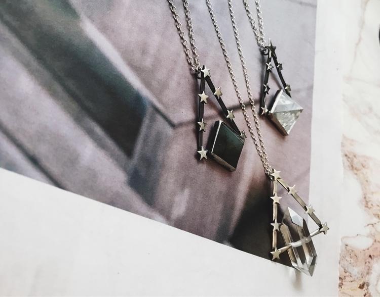 Star studded talismans, hand fo - theserpentsclub | ello