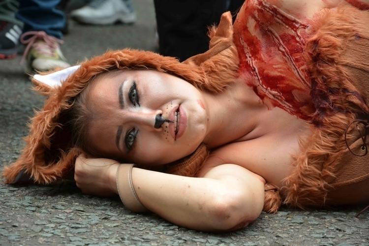Anti-Fox Hunting Protest London - idjphotography | ello