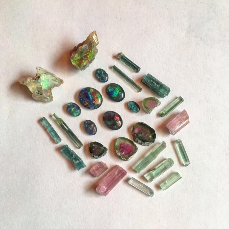 Opal Tourmaline:heartpulse:  - crystals#opal#weloopal#tourmaline#october#birthstone - roamingbuffaloshop   ello