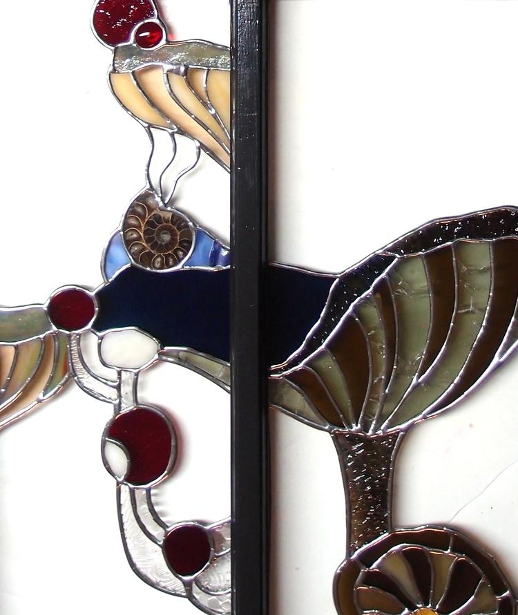 Post! mushroom stained glass So - neilecooper | ello