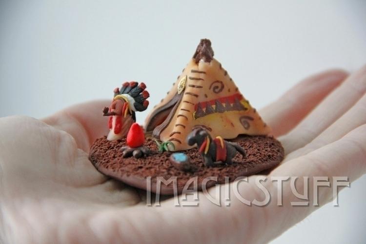 Indian miniature. magical.:spar - i_magicstuff | ello