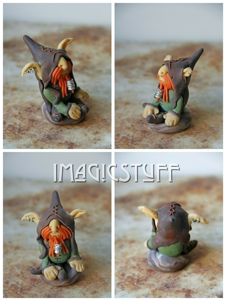 Meet Drake. brutal kind goblin  - i_magicstuff | ello