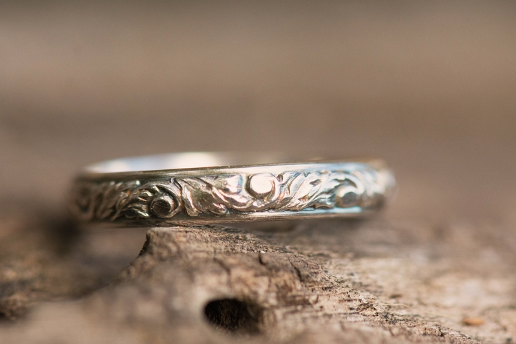 Beautiful embossed sterling sil - silverobsessions   ello