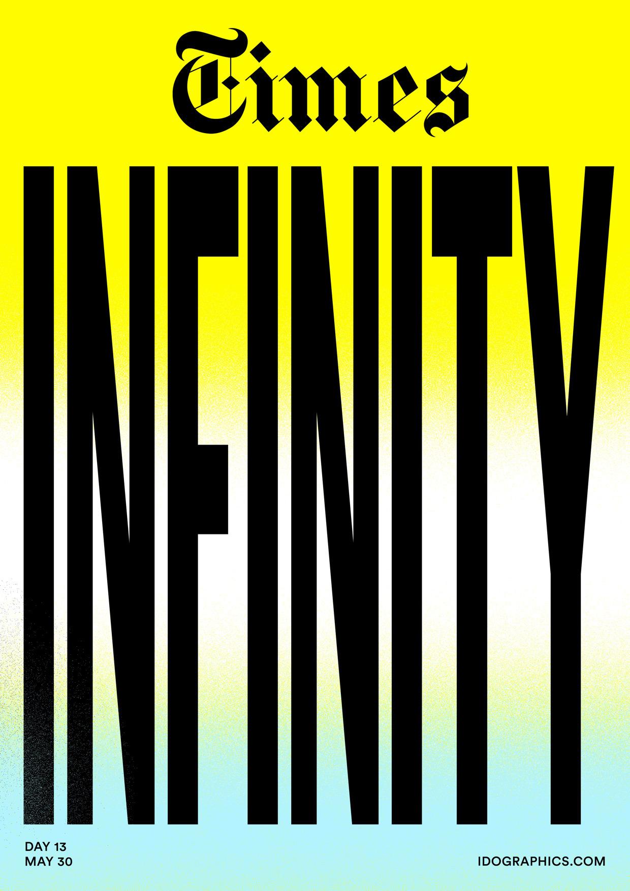 TIMES INFINITY - design, typography - idographics   ello