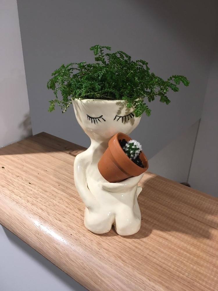 dude pot finished ready home - pot#pottery#ceramics#plants#cactus - livingdecortwins   ello